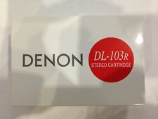 DENON DL-103R 0.27 mV Low Output MC Cartridge, MADE IN JAPAN