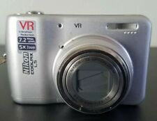 Nikon COOLPIX L5 7.2MP Digital Camera - Silver *Fine/tested* FREE SHIPPING!