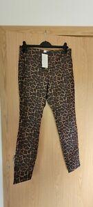H&M BNWT Super Stretch Animal Print Leggings/ Jeggings Size 16