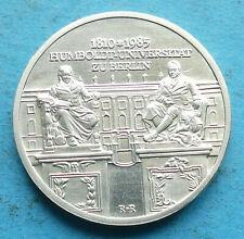 ! DDR GDR Silber 10 Mark 1985 vz+ xf+ Humboldt Universität Berlin RR
