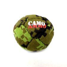 Hacky Sack 14 Panel Dirtbag Camo Ammo Camouflage Footbag Kick Bag Bullet Proof