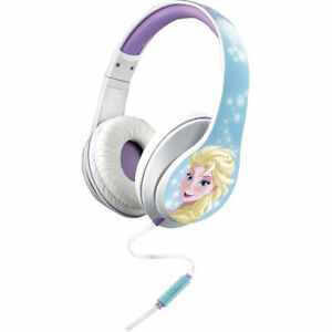 Kid Designs DIM40FRFX iHOME Disney Frozen Over the Ear Headphones w/ Mic