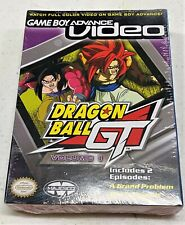 GAMEBOY ADVANCE VIDEO DRAGON BALL GT VOLUME 1 BRAND NEW SEALED!