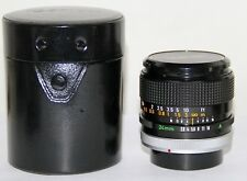 Canon FD 24mm f/2.8 SSC Manual Focus Wide Angle Lens GREAT Condition In Case