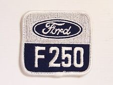 FORD F250 EMBROIDERED PATCH 67x73mm WOVEN PATCH BADGE SEW-ON F-250 TRUCK NOS