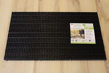 Fußmatte Astra Türmatte Multi Brush 044 schwarz 45x75 cm