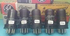 Lot Of 5 RCA GE Sylvania   6AC7  Vacuum Tubes Tested New On Calibrated Hickok