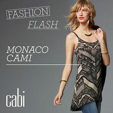 CAbi Monaco Cami * Fall Collection 2016 # 3278 Size Small* New With Tag $ 96