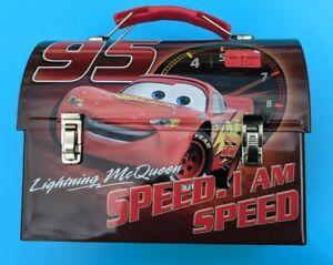 Tin Box Lunch Cars Disney pixar Speed Lightning McQueen