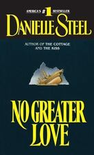 DANIELLE STEEL No Greater Love (Paperback) **CHEAPEST ON EBAY**FREE SHIPPING**