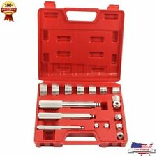 17pc Aluminium Wheel Bearing Race Seal Bush Driver Installer Car Garage Tool Set