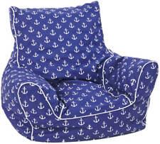 KNORRTOYS Kindersitzsack Maritim blue
