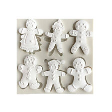 Christmas Snowman Silicone Fondant Mold Cake Decorating Tool Chocolate Mould_S