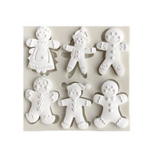 Christmas Snowman Silicone Fondant Mold Cake Decorating Tool Chocolate Mould ESU