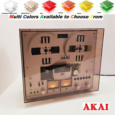 Akai Dust Cover Multi Col. GX-265D & GX-270D Reel to Reel Tape Recorder Stofkap