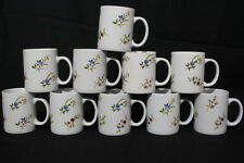 Set of 10 BIA Cordon Bleu Frieda Collection Versailles Large Mugs, Mint