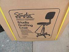 NEW Studio RTA Drafting Chair, Black 18620  NIB