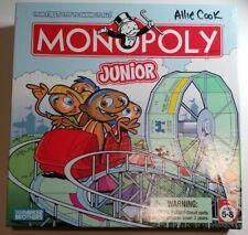 Monopoly Junior JR Board Game 2005 Amusement Park Complete Parker Brothers excel