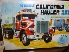 Amt No. 866 Peterbilt California Hauler 359 1/25 Scale Plastic Model Kit-Mint