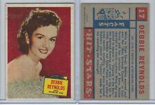 1957 Topps, Hit Stars, #17 Debbie Reynolds