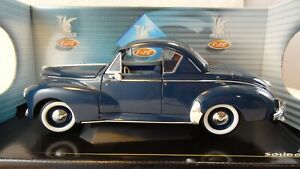 1/18 SOLIDO 8168 PEUGEOT COUPE 1954