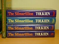 4 x Silmarillion First Editions (rarest variants!) J.R.R Tolkien + Bonus Book