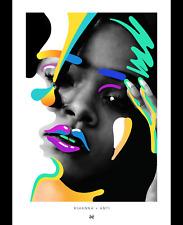 Rihanna Anti Tour Art Poster from Rihanna's personal backstage