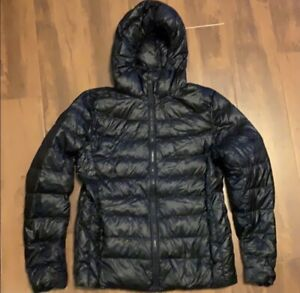 Uniqlo hooded down puffer