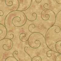 Imperial The Comfort Cafe Large Scroll Wallpaper LA036694