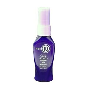 It's a 10 - Silk Express Miracle Silk Leave-In Conditioner 2 oz