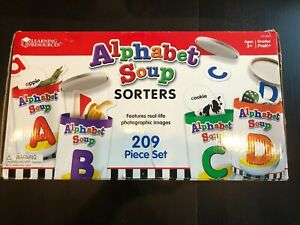 Learning Resources Alphabet Soup Complete Box Set Preschool Teacher Homeschool