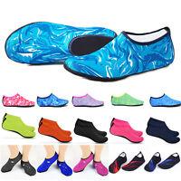 Unisex Short Water Skin Loose Soft Shoes Socks Quick-Dry Comfort Swim Yoga Socks