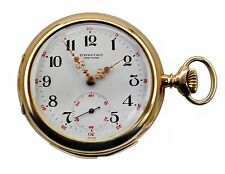 Vintage 1890' Tiffany & Co.18k Minute Repeater Open Case Pocket Watch