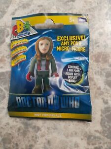 Doctor who character building rare EXCLUSIVE AMY POND MICRO FIGURE