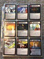 Fullmetal Alchemist 74 Tcg Fc Set Foil Mint Condition