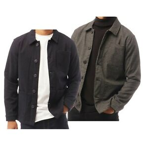 Mens French Connection Stylish Formal Button Utility Jacket Sizes from S to XXXL