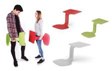 Ztool Rouge-Ordinateur Portable/Tablette Table/chaise. portable écriture ou lecture Soutien.