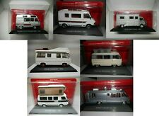 CAMPING CAR COLLECTION CAMPER HACHETTE 1:43 1/2