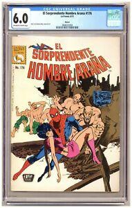 El Sorprendente Hombre Araña 176 (CGC 6.0) Amazing Spider-Man Mexican Edition