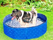 4x Hundepool DOGGY POOL ø: 120 cm blau Sonderpreis extra stabiel !!!