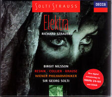 STRAUSS ELEKTRA Birgit Nilsson Regina Resnik Tom Krause Collier Stolze SOLTI 2CD