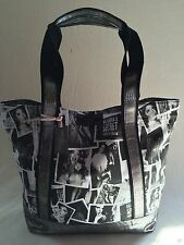 VICTORIA'S SECRET SUPERMODEL ESSENTIALS WEEKENDER TOTE,BAG,HANDBAG,BLACK MULTI