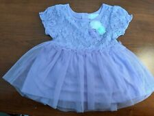 Guess Baby Toddler Girl 12-18 month Lavender Purple Dress