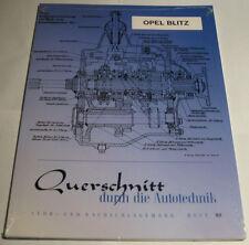 Reparaturanleitung Opel Blitz, Baujahre 1930 - 1960