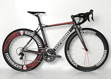 4a770468560 STRADALLI R7 CARBON FIBER ROAD BIKE SHIMANO ULTEGRA 6800 11 SPEED BICYCLE  52 CM