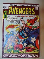 AVENGERS 93 MARVEL COMIC NOVEMBER 1971 Neal Adams Roy Thomas Stan Lee Cow Skrull