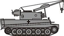 CMK 2010 1/72 Resin Conversion Kit for WWII German Bergetiger (Revell)