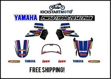 For Yamaha PW50 Decal Kit 1990-2014 Pink PW 50 Pee Wee Vinyl Sticker