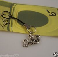 Dragon cell phone charm or purse charms