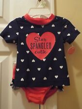Carter's Star Spangled Cuite Swim Outfit Size 3M NWT